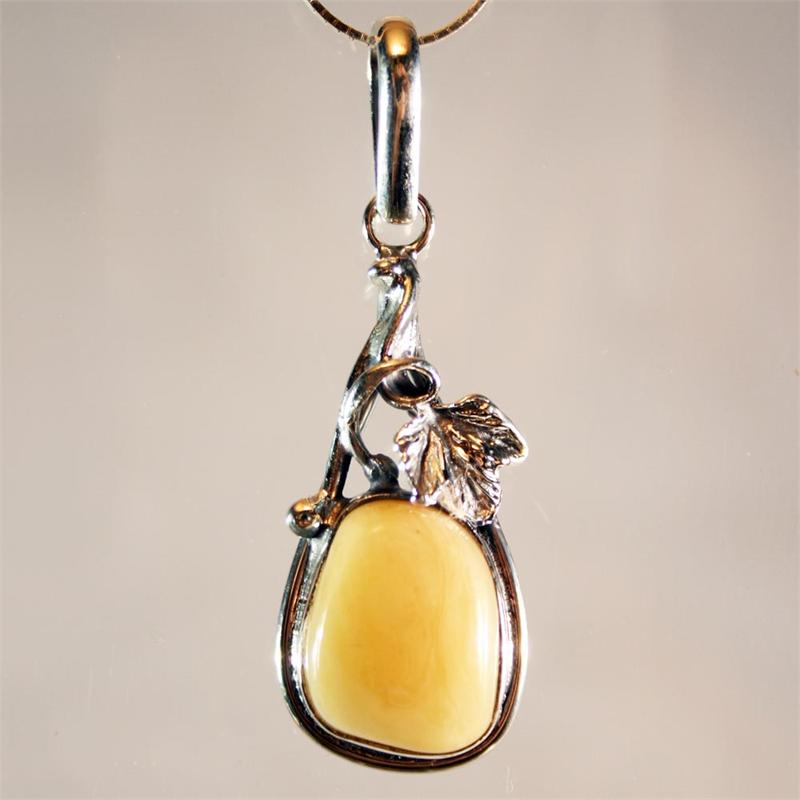 Butterscotch baltic amber pendant set in 925 sterling silver from butterscotch baltic amber pendant set in 925 sterling silver from lithuania aloadofball Images