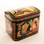 Russian Lacquer Box Assorted Fairytales from Palekh