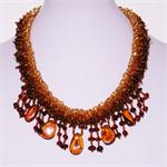 Multicolor Amber Necklace 7