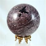 100% Natural Charoite Sphere Made in Russia