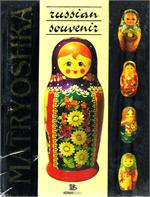 Russian Souvenir Matryoshka Book