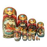 Unique Matryoshka Nesting Dolls