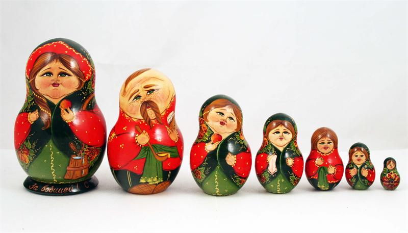 Image result for ukrainian nesting dolls pictures