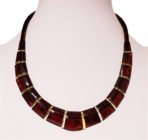 Cleopatra Amber Necklace