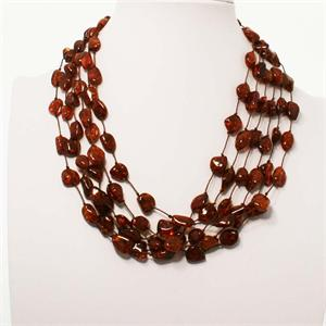 Multi strand Baltic Amber Necklace 2