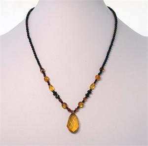 Cherry And Honey Baltic Amber Necklace