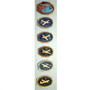The Bridge of Friendship WWII Commemorative Set of Soviet Pins