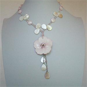Mother of Pearl Designer Necklace