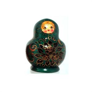 Floral Matryoshka Nesting Doll Hand Made in Russia