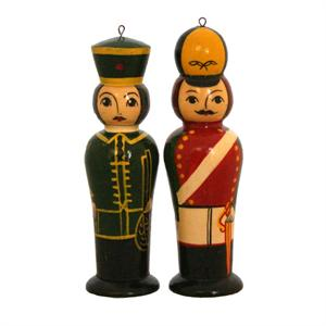 Soldier Ornaments