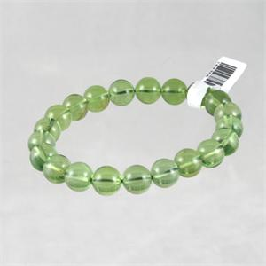 Green Amber Stretch Bracelet 4