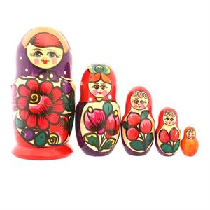 Traditional Matryoshka Doll-4