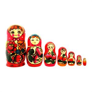 Traditional Matryoshka Doll 2-3