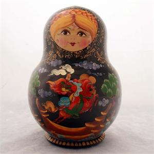 Russian Matryoshka Nesting Doll Russian Fairytale by I. S.