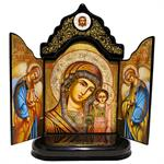 Triptych Our Lady Of Kazan