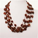 Multi strand Baltic Amber Necklace 2-2