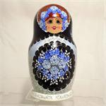 Gzhel Matryoshka Nesting Doll by Borisov from Sergiev Posad