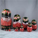 Russian Matryoshka Nesting Doll -  Day in the Park by Osipov 4
