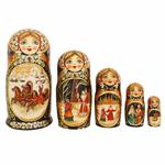 Matryoshka Winter Troika